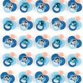 Jolee\u0027s Boutique 25 Pack Glitter Repeat Stickers-Blue Pacifier
