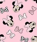 Disney Minnie Mouse Knit Fabric 58\u0027\u0027-Tossed