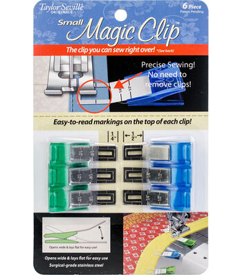 Taylor Seville 6 pk Small Magic Clips