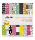 American Crafts Amy Tangerine Plus One Paper Pad 6\u0022x6\u0022