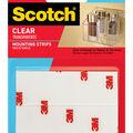 Scotch Mounting Strips 1\u0027\u0027x3\u0027\u0027-Clear