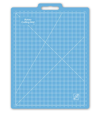 """June Tailor Gridded Rotary Mat-18""""x26"""" With 17""""x23"""" Grid"""