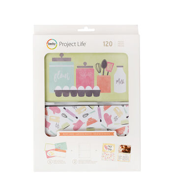 Project Life Value Kit-Recipe