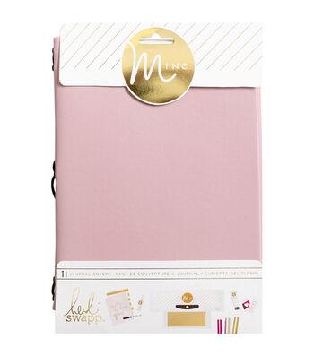 "Heidi Swapp Minc Journal Cover 6""X9""-Blush Vinyl"