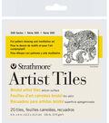 Strathmore Artist Tiles 4\u0022X4\u0022 20 Pack-Bristol Vellum
