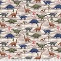 Premium Prints Cotton Fabric-Dinosaurs & Volcanos