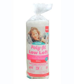 "Poly-Fil Low Loft Crib Size 45""x60"" 100% Bonded Polyester Batting"