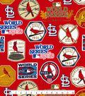 St. Louis Cardinals Cotton Fabric -Champion Legacy