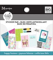 The Happy Planner Girl Tiny Sticker Pad-Happy Hostess, , hi-res
