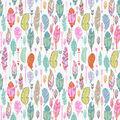 Super Snuggle Flannel Fabric-Multicolor Feathers