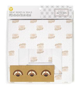 Wilton Simply Autumn Treat Boxes-Gobble Gobble