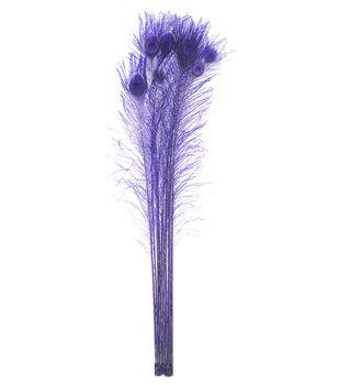 """Bloom Room 30-40"""" Peacock Eyes-Purple"""