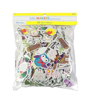 Little Makers Summer 210 Foam Stickers Value Pack-Little Adventurer
