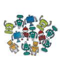 Robots Adhesive Foam Stickers