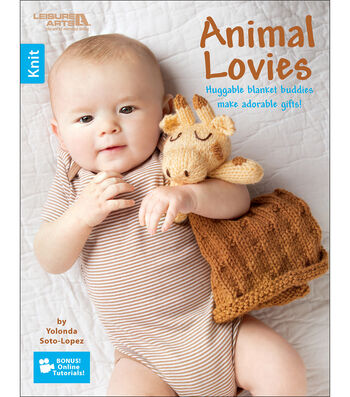 Animal Lovies Knitting Book