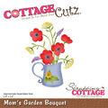 CottageCutz Die-Mom\u0027s Garden Bouquet 2.4\u0022X3.2\u0022