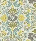 P/K Lifestyles Lightweight Decor Fabric 54\u0022-Folk Damask/Bliss