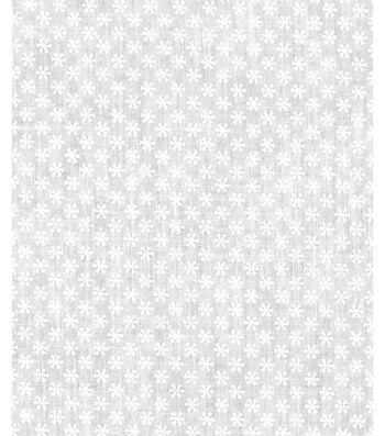 Christmas Cotton Fabric -Ditsey Snowflakes