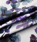Sportswear 7 oz. Denim Fabric -Watercolor Florals