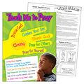 Teach Me to Pray Learning Chart 17\u0022x22\u0022 6pk