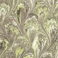 Premium Wide Cotton Fabric-Tan Oil Slick