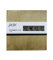 Fab Lab Blank Rustic Scrabble Tile, , hi-res
