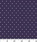 Quilter\u0027s Showcase Cotton Fabric 44\u0022-Grape Dot