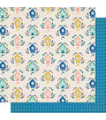 Maggie Holmes Willow Lane Double-Sided Cardstock 12\u0022X12\u0022-Happy Times