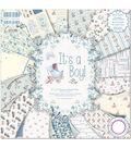 First Edition Premium Paper Pad 8\u0022X8\u0022 48/Pkg-It\u0027s A Boy