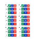 Koplow Games Number Dice Set, 12 Per Set, 6 Sets