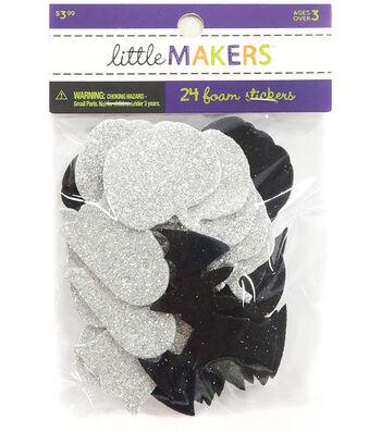 Little Maker's Glitter Stickers-Halloween