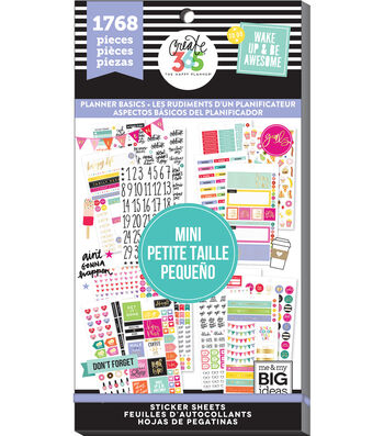 The Happy Planner Mini Value Pack Basics