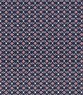 Patriotic Cotton Fabric 43\u0027\u0027-Star & Scrolls on Blue