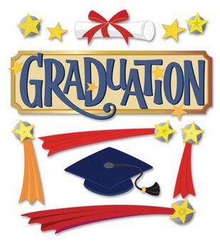 Jolee's Boutique Themed Ornate Stickers-Graduation Word