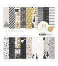 Kaisercraft Specialty Paper Pad 12\u0022X12\u0022 36/Pkg-First Noel