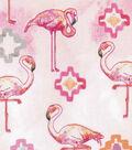 Keepsake Calico Cotton Fabric -Pink Flamingo