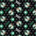 Boston Celtics Cotton Fabric