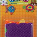 Perler Small Color Pegboards-Dog/Fish/Cat/Turtle 4/Pkg