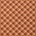 Super Snuggle Flannel Fabric-Kate Orange & Navy Plaid