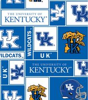 University of Kentucky Wildcats Fleece Fabric 58''-Block, , hi-res