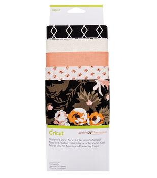 Cricut Designer Fabric Sampler-Apricot Persimmon