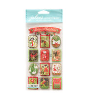 American Crafts Stickers-12 Days of Christmas, , hi-res