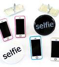 Eyelet Outlet Shape Brads-Selfie/Phone