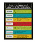 Carson-Dellosa Things Good Readers Do Chalkboard Chart 6pk