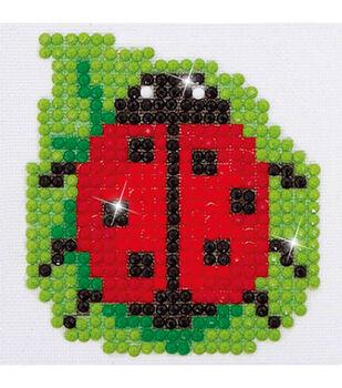 "Diamond Embroidery Facet Art Kit 4.7""X4.7""-Lady Luck"