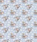 Disney Dumbo Cotton Fabric-Dumbo and Stars