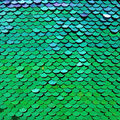 Glitterbug Reversible Sequin Fabric 31\u0027\u0027-Blue & Green