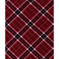 Quilter\u0027s Flannel Fabric-Burgundy Riley Plaid