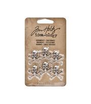 Tim Holtz Adornments Crossbones, , hi-res