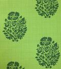Outdoor Fabric-Weeds Green